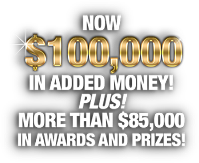 The Low Roller Reining Classic has BIGGER Payouts, and BETTER Prizes!